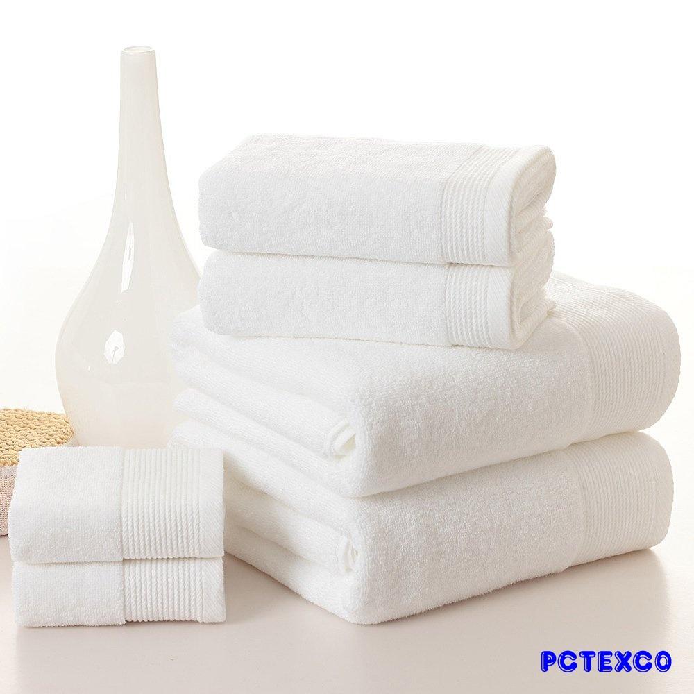 Khăn tắm cotton trắng 70x140