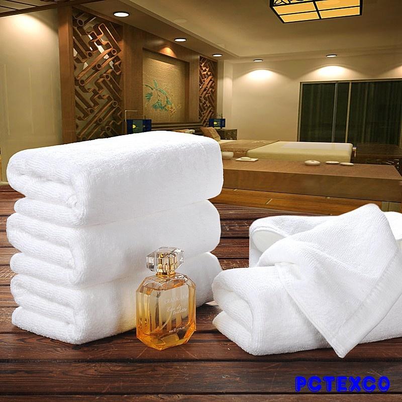 Khăn Spa - Khách sạn (trắng)