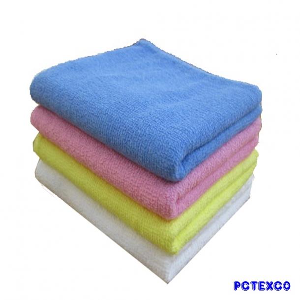 Khăn tắm cotton màu 50x100